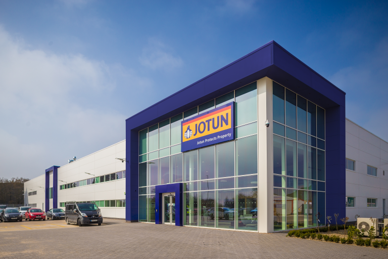 Jotun Paints Build and Fitout